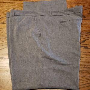 Plus Size Women's Grey Slacks 22W
